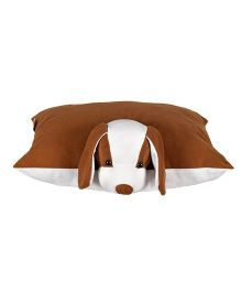 Ultra Folding Dog Cushion - Brown