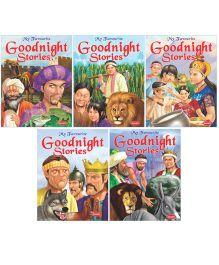 Goodnight Stories Book Set of 5 - English