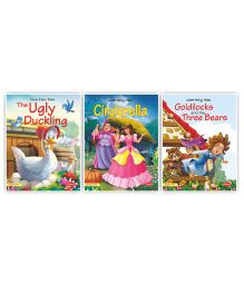 Fairy Tale Story Book Pack of 3 - English