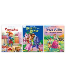 Fairy Tales Story Book Pack of 3 - English