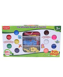 Fun Dough Ultimate Dough & Tool Kit - 60 Plus Pieces