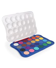 Doms Water Colour Tablets 24 Shades - Multicolour