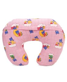 Babyhug Feeding Pillow Printed - Pink