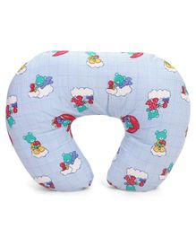 Babyhug Feeding Pillow Printed - Blue