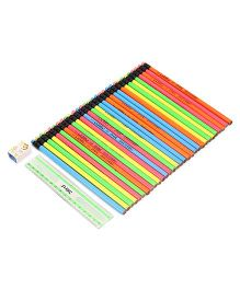 Doms Neon RT Pencil Jar - 30 PCS
