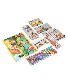 Doms Painting Kit - Pack Of 8 Pieces
