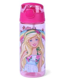 Barbie Water Bottle Always Show Sparkle Print - 500 ml