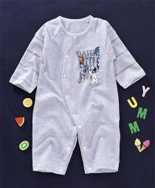 UKY Kids Awesome Little Guy Printed Romper - Grey