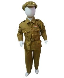 BookMyCostume Police Community Helper Fancy Dress Costume - Green