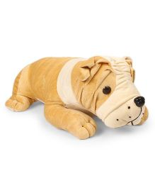 Funzoo Bull Dog Soft Toy Brown - Length 40 cm