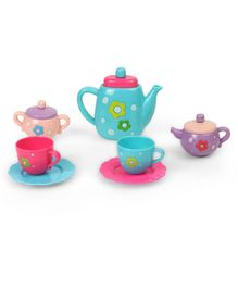 Imagician Playthings Kids Villa Role Play Tea Party Set (Color May Vary)