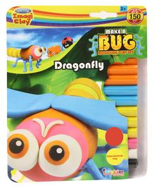 Imagician Playthings Craftival Clay Make A Bug - Multicolor