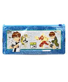 Ben 10 Sparkle Pencil Pouch - Blue