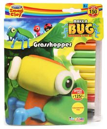 Imagician Playthings Craftival Clay Make A Grasshopper - Multicolor