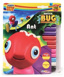 Imagician Playthings Craftival Clay Make A Ant - Multicolor