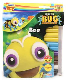 Imagician Playthings Craftival Clay Make A Bee - Multicolor