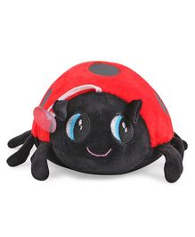 Skylofts Suction Hook Up Beetle Stuffed Soft Toy Red - Height 20 cm
