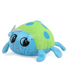 Skylofts Suction Hook Up Beetle Stuffed Soft Toy Blue Green - Height 20 cm