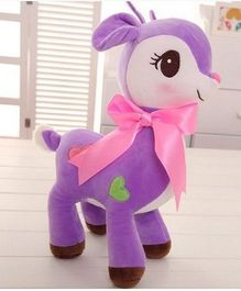 Skylofts Deer Soft Toy Purple - Height 22 cm