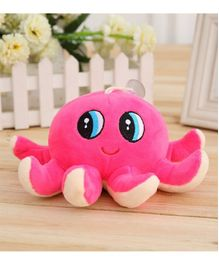 Skylofts Octopus Soft Toy Pink - Length 18 cm