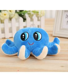 Skylofts Octopus Soft Toy Blue - Length 18 cm