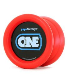 YoYo Factory Yo-Yo With Extra String - Red