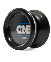 YoYo Factory Yo-Yo With Extra String - Black