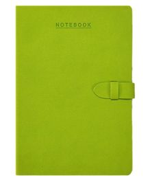Lock Master Craft A5 Size Notebook Green  - 224 Pages