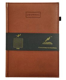 La Kaarta A5 Size Journal Brown - 224 Pages