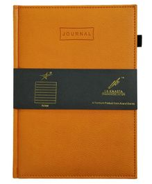 La Kaarta A5 Size Journal Orange - 224 Pages