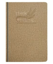 La Kaarta Think Organic Theme B5 Size Notebook Beige Colour - 224 Pages