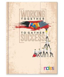 La Kaarta Working Together MPP B5 Size Diary Off White - 224 Pages
