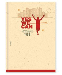 La Kaarta Yes We Can Theme B5 Size Diary Cream - 224 Pages
