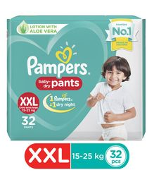 Pampers New Pant Style Diapers XXLarge Size - 32 Pieces