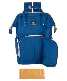 T-Bags Backpack Style Diaper Bag - Blue