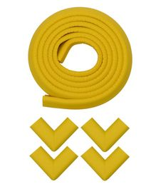 Store2508 Cushioned Edge Guard With Corner Guards Pack of 5 - Yellow