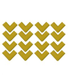 Store2508 Corner Guards Pack of 16 - Yellow