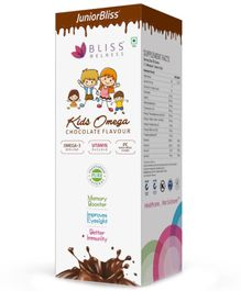 Bliss Welness Junior Bliss Kids Omega Chocolate Flavour Syrup - 100 gm