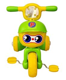 Toyshine Unbreakable Musical Tricycle - Green