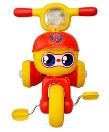 Toyshine Unbreakable Musical Tricycle - Red