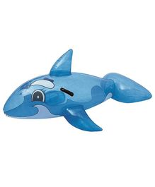 Bestway Inflatable Whale Rider Float - Blue