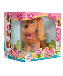 IMC Toys Lucy Sing & Dance Toy Brown - Length 28 cm