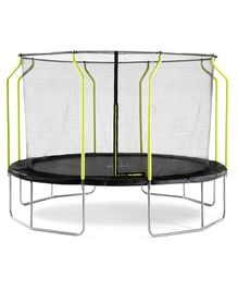 Plum Wave Springsafe Trampoline And Enclosure Black - 12 feet
