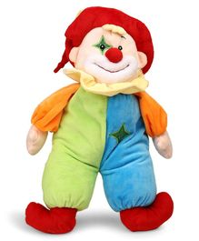 Starwalk Clown Plush Soft Toy Multicolor - Height 43 cm