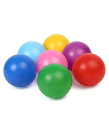 IToys PVC Pool Balls Pack Of 28 Balls - Multicolour