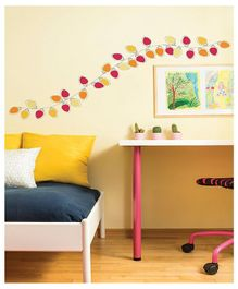 Asian Paints Lights Up Wall Sticker - Yellow & Red