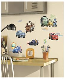 Asian Paints Disney Cars 2 Wall Sticker - Multi Color
