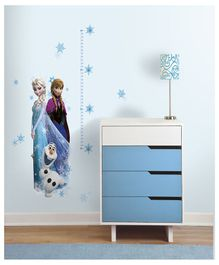 Asian Paints Elsa Enna & Olaf Wall Sticker - Blue