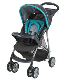 Graco Click Connect Literider Stroller - Teal Blue Black