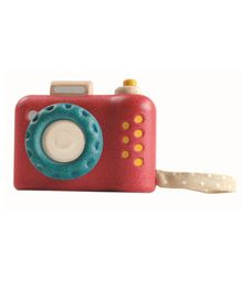Plan Toys My First Camera - Red